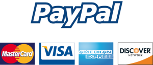 PayPal accepted cards